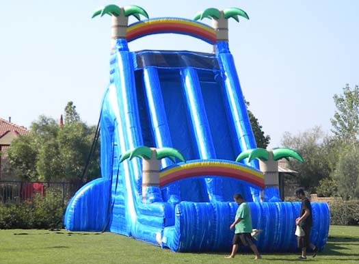 27 Ft Hawaiian Tropic Dry Slide