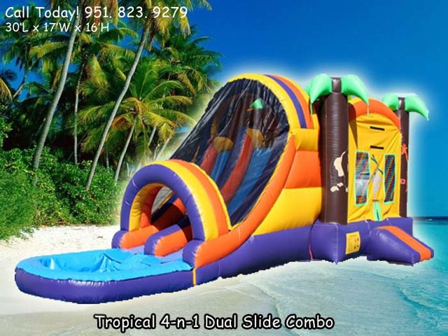 4N1 Tropical W/Pool (Item 302)
