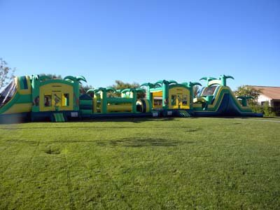 120 Ft Safari Obstacle Challenge Dry  (Item 332)