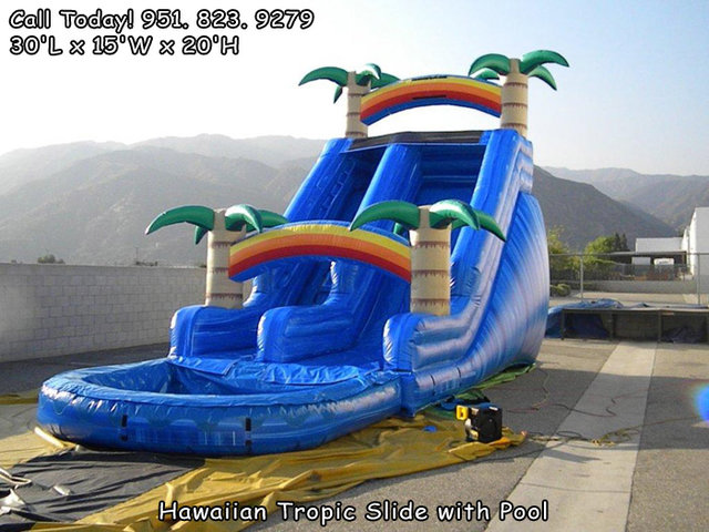 20 Ft Hawaiian Tropic Water Slide (Item 308)