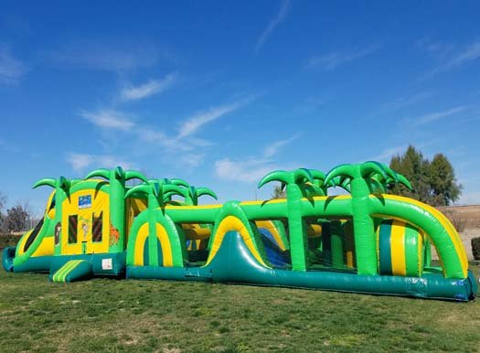 75 Ft Safari Obstacle Challenge With Pool (Item 710)
