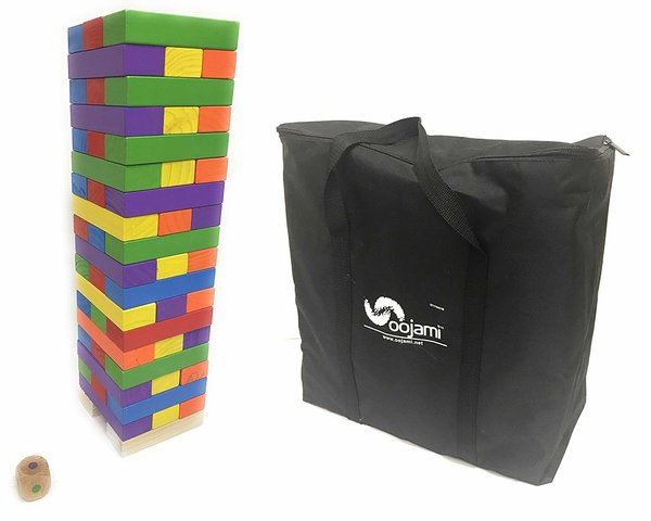Giant Colored Jenga