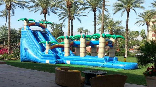 Hawaiian Tropic Supreme Water Slide Rental (Item 309)