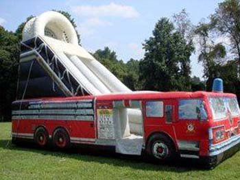 20 Ft Fire Truck Dry Slide (Item 900)