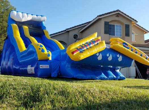 20 Ft Wipe Out Water Slide (Item 344)