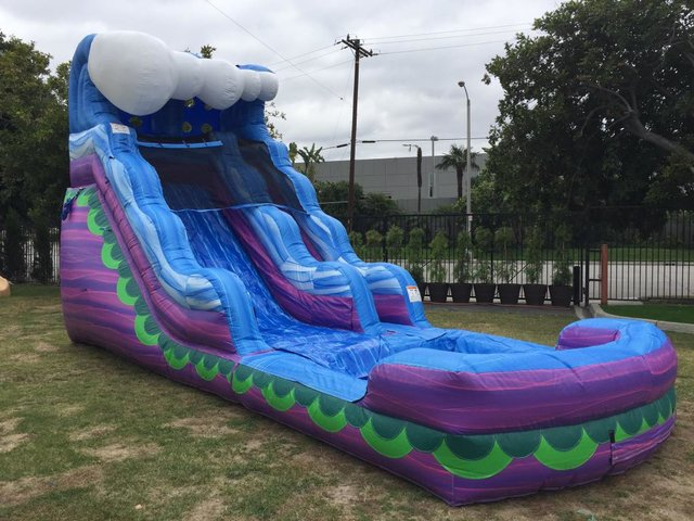16 Ft Purple Crush Dry Slide