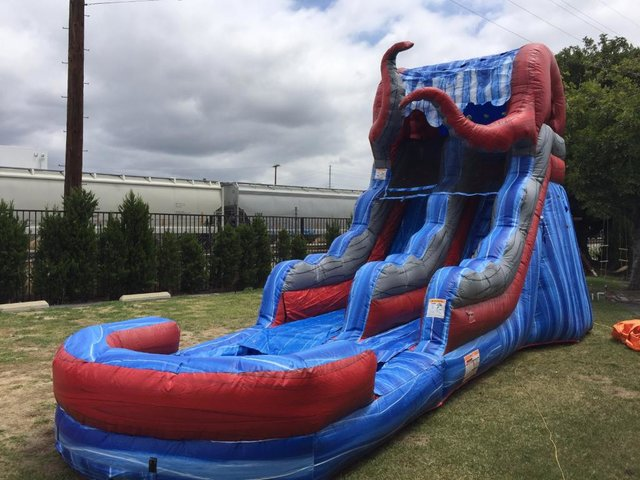 16 Ft Kracken Dry Slide