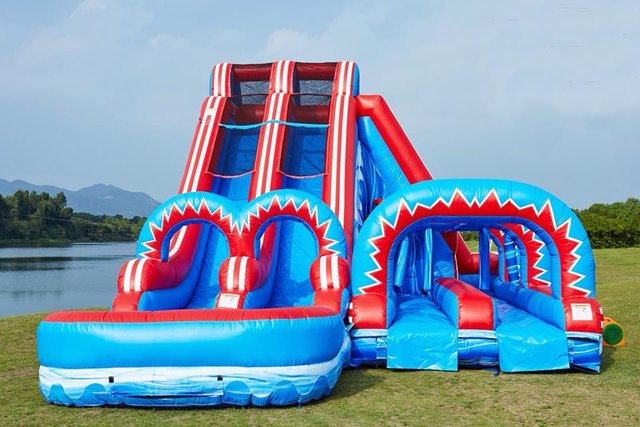 22 Ft Freedom Water Slide/ Side SNS Item 351