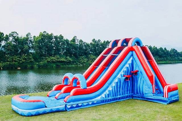 22 Ft Freedom Water Slide