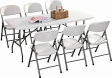 1 Table with 6 Chairs Set