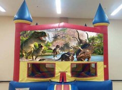 Dinosaurs Theme Inflatable W/Hoop (Item 125)