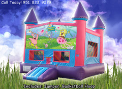 Sponge Bob Girls Castle W/Hoop (Item 221)