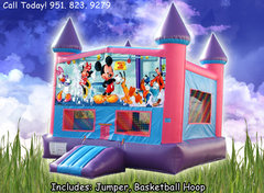 Mickey Mouse Girls Castle W/Hoop (Item 223)