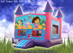 Dora The Explorer Girls Castle W/Hoop (Item 224)