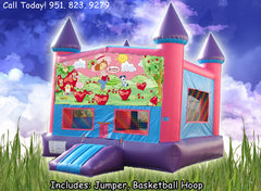 Strawberry Shortcake Girls Castle W/Hoop (Item 225)