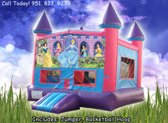 Disney Princess Girls Castle W/Hoop (Item 226) Image May Vary