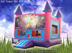 Tinkerbell Girls Castle W/Hoop (Item 227) Image May Vary