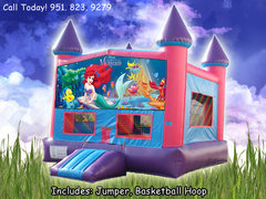 Little Mermaid Girls Castle W/Hoop (Item 230)