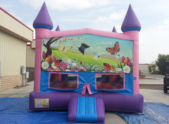 Butterflies Girls Castle W/Hoop (Item 231)
