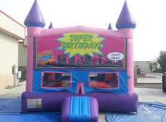 Super Birthday Girls Castle W/Hoop (Item 233)