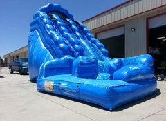 20 Ft Dual ln Tsunami Curvy Water Slide (Item 341)