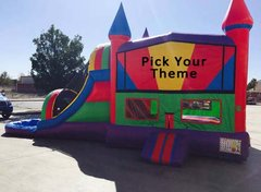 4N1 Wacky Slide and Pool Combo (Item 304) CHOOSE YOUR THEME!