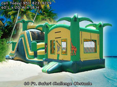 Safari Blast Obstacle W/Pool (Item 331)