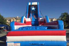 40 Ft Captain America Water Slide Rental (Item 348)