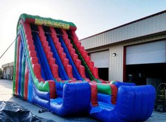 27 Ft Triple Ln Express Dry Slide (Item 916)