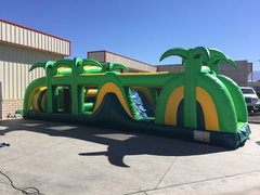 45 Ft Safari Playland Obstacle Course Rental Item 731