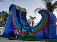 22 Ft Xtreme Halfpipe Water Slide (Item 343)