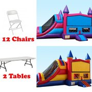 Any  4N1 Combo Choose Your Theme 2 Tables 12 Chairs