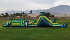 75 Ft Safari Obstacle Course Challenge W/Pool (Item 720)