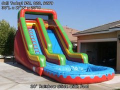 20 Ft Big Red w/ pool (Item 312)
