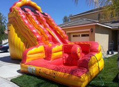 20 Ft Dual LN Lava Twist Water Slide (Item 338)
