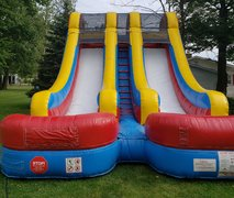 Water Slide 20 ft Dual Lane