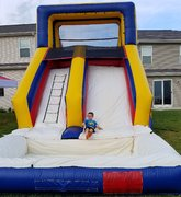 Water Slide 16ft with pool