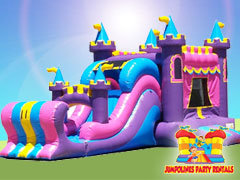 BOUNCE HOUSES WITH SLIDES