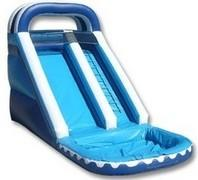 18 ft. Single Lane Wet Slides
