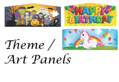 ART PANEL Theme selections for your inflatable