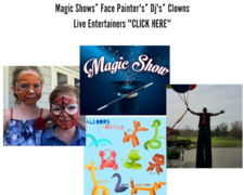 Face Painting/ Magic Shows/ DJ /Performers
