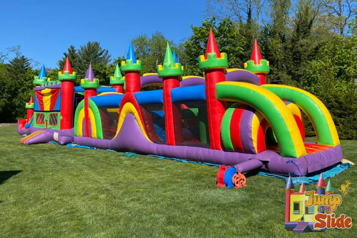inflatable obstacle course long island ny