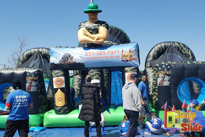 obstacle course rental long island