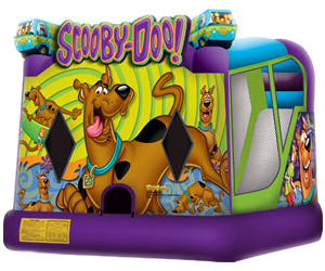 SCOOBY DOOBY DOO BOUNCER AND SLIDE #CU28