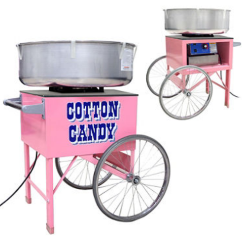 Cotton Candy Machine On A Cart #CON2