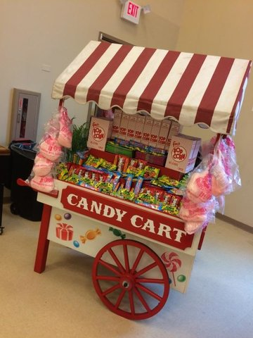 Candy Display Cart #CON12
