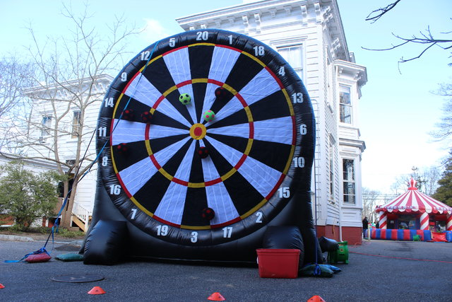 Soccer Inflatable Dart Board # ig42