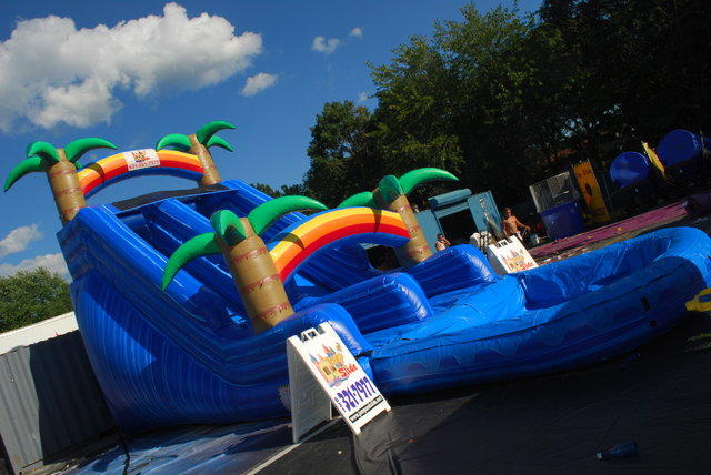 Tropical MONSTER Slide WITH POOL! #WS9