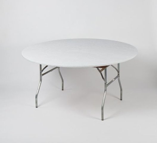 TABLE COVER ONLY- Round KWIK COVER WHITE