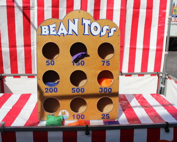 Bean Toss #CG1 (Carnival Games)